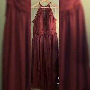 Cabernet Bridesmaids/Evening Gown